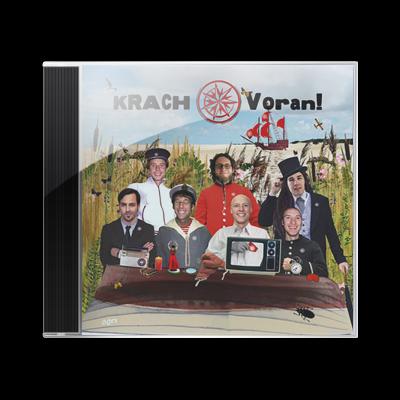 KRACH Album CD Voran!