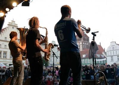 """Live auf dem """"Greifswalder Markt"""" zum Präventionstag"""
